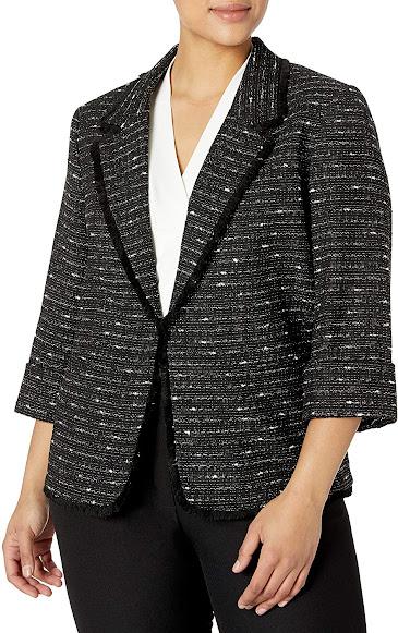 Trendy Plus Size Blazers For Women