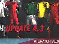 Update Patch PES 2018 dari PTE V4.3