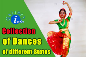 Collection of folk dances of Different States