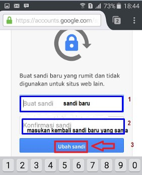 lupa password akun gmail