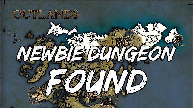 UO OUTLANDS (Ultima Online) • Newbie Dungeon Found