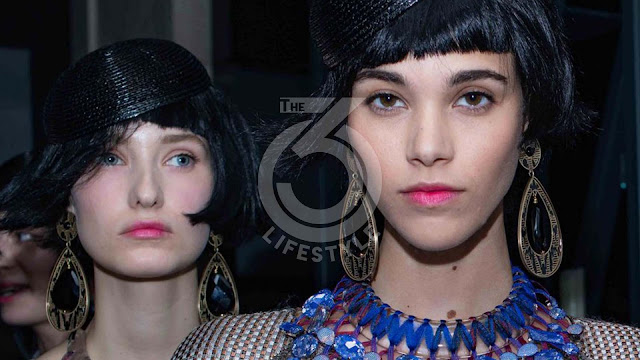 The beauty look of the Giorgio Armani Private spring summer 2020 show