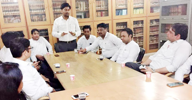 Congress Legislative Assembly meeting was held in connection with the election of Bar Council