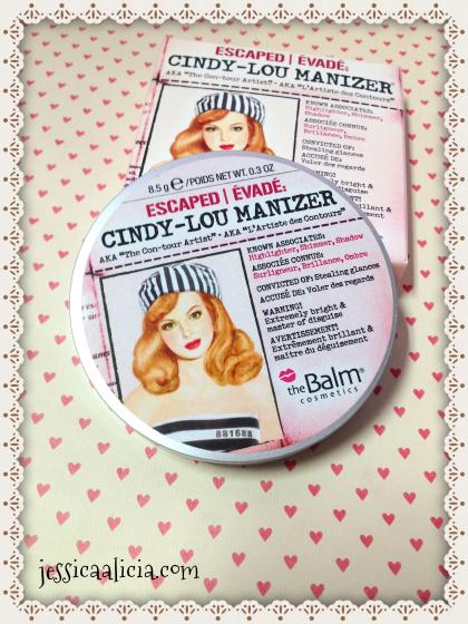 Review : The Balm Cindy-Lou Manizer by Jessica Alicia