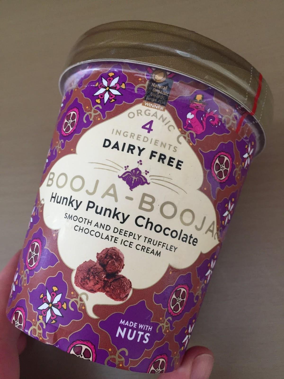 Booja Booja Hunky Punky Chocolate Ice Cream