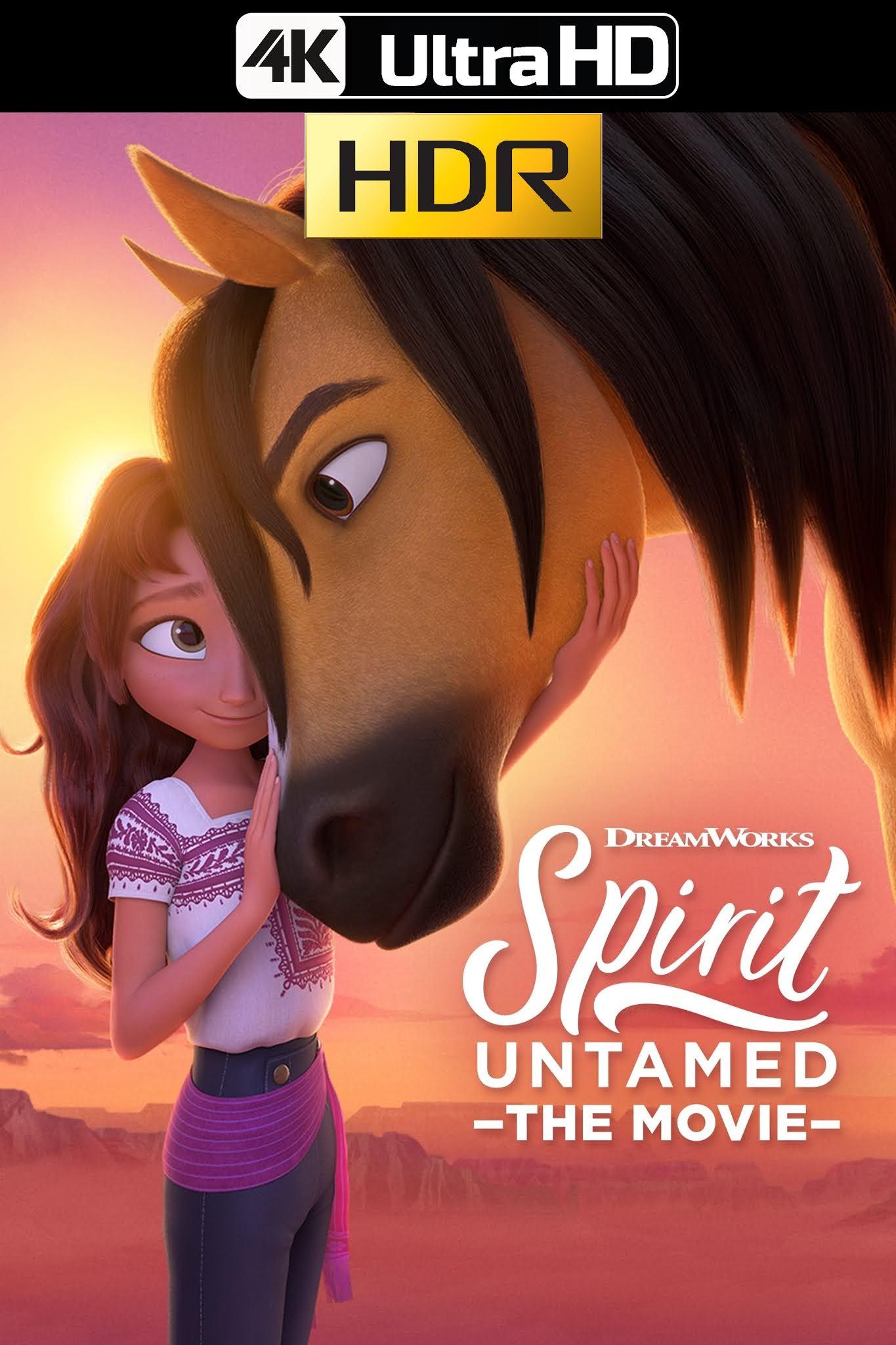 Spirit: El Indomable (2021) Web-DL 4K UHD HDR Latino