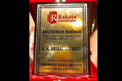 Unggul Survei Pilgub Lampung, AMPG Lamsel Beri Selamat Kepada Arinal