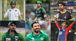 Unsold Top players in PSL 6 Draft
