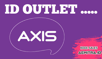 ID Outlet AXIS/ Kode Penjual, Metode Catatan Kartu Perdana AXIS