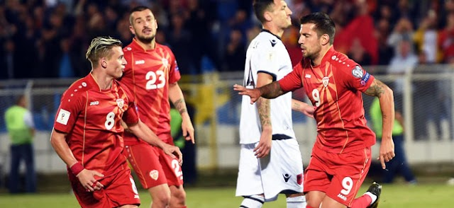 Macedonia up nine spots in latest FIFA ranking