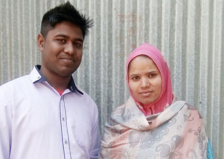 প্রেমের টানে নেপালি তরুণী টাঙ্গাইলে