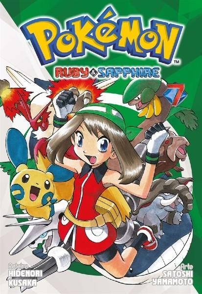 Pokémon Ruby e Sapphire Mangá Volume 07