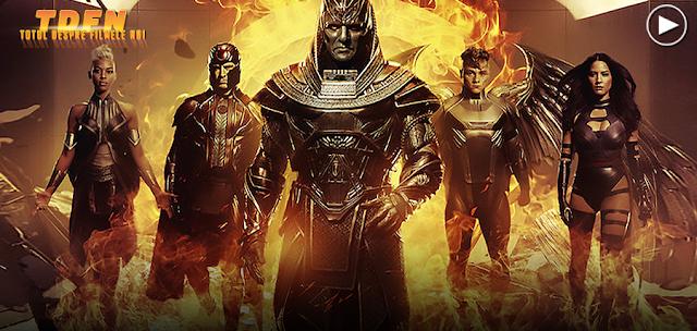 Clip Nou X-Men - Apocalypse: O incursiune mai profundă în echipa personajelor negative conduse de Oscar Isaac