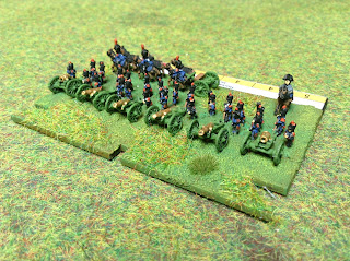 6mm French artillery battery