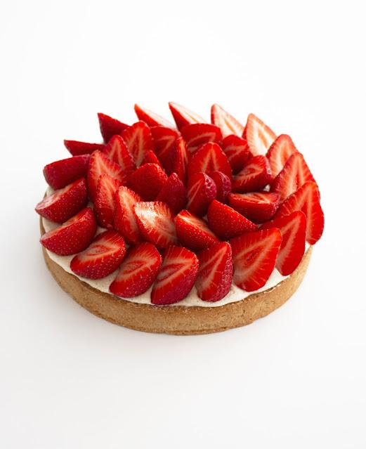 Tarte aux fraises. Photo (c) Linda Vongdara