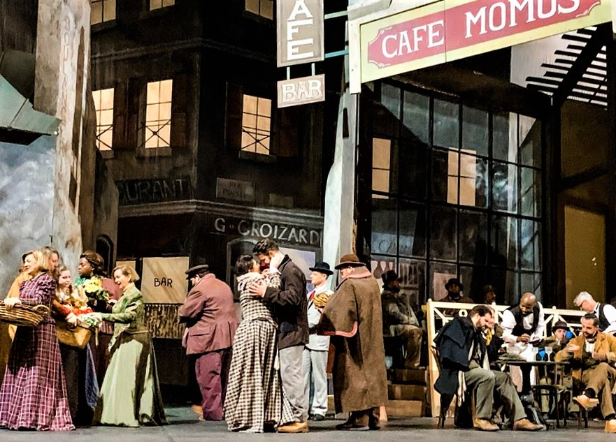 IN REVIEW: the case of Opera Carolina's January 2020 production of Giacomo Puccini's LA BOHÈME [Photograph by Mitchell Kearney, © by Opera Carolina]