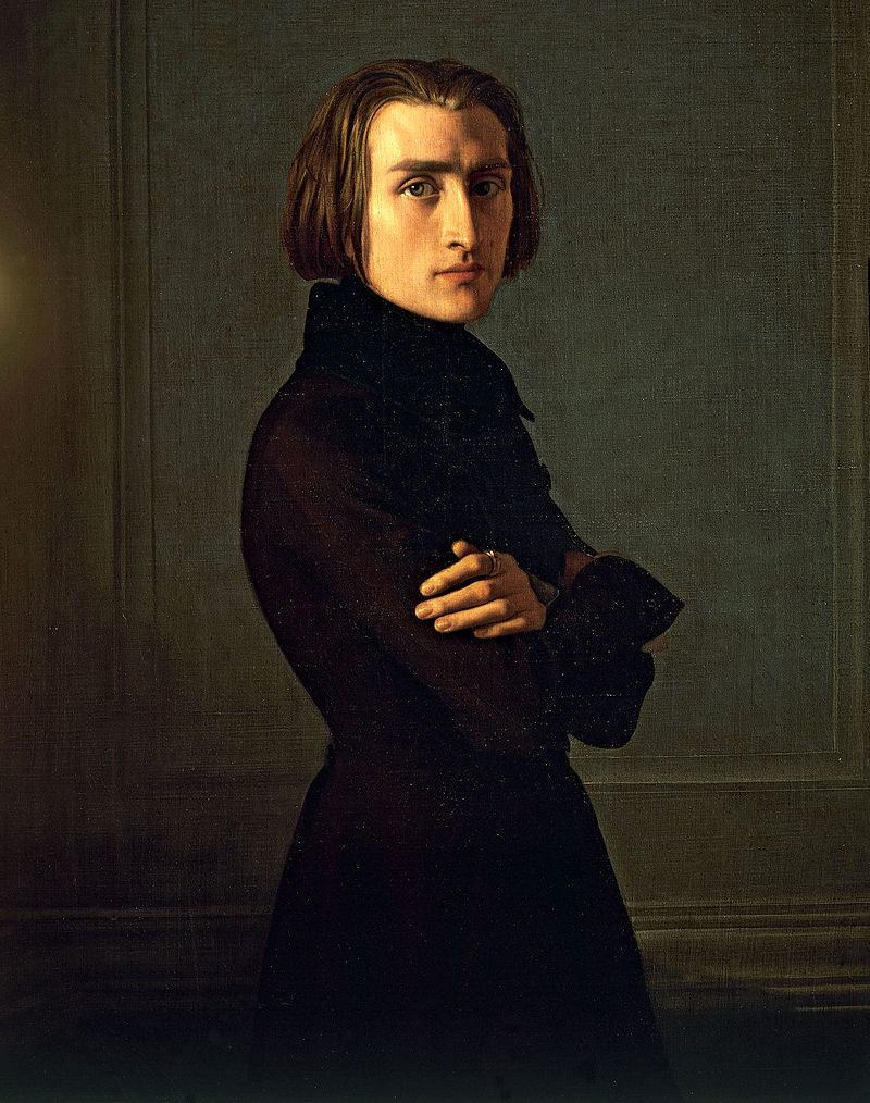 Henri Lehmann: German Born French Painter (14 April 1814 – 30 Mar 1882)