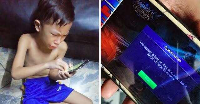 Akun Mobile Legends Nya Di Banned 30 Tahun, Bocah Ini Nangis Histeris Buat Ayahnya Ngakak