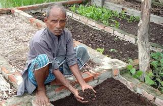 समाजसेवा के बाद जैविक खेती को बनाया हथियार  | #NayaSaberaNetwork