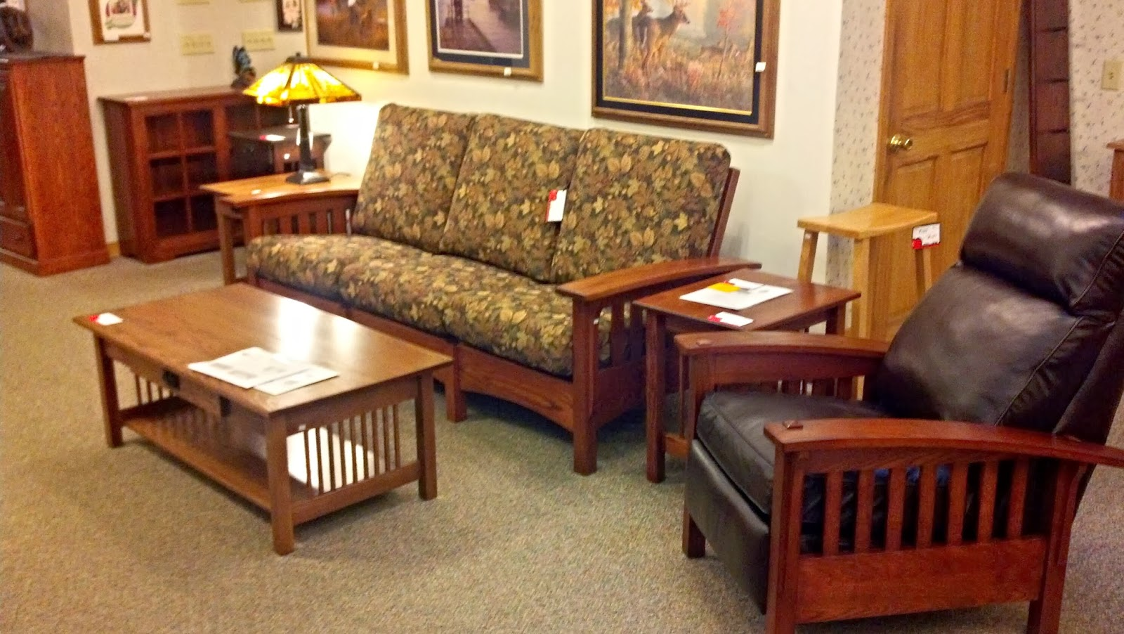 Awesome Binghamton Furniture Mission Sofa Recliner Gmtry Best Dining Table And Chair Ideas Images Gmtryco