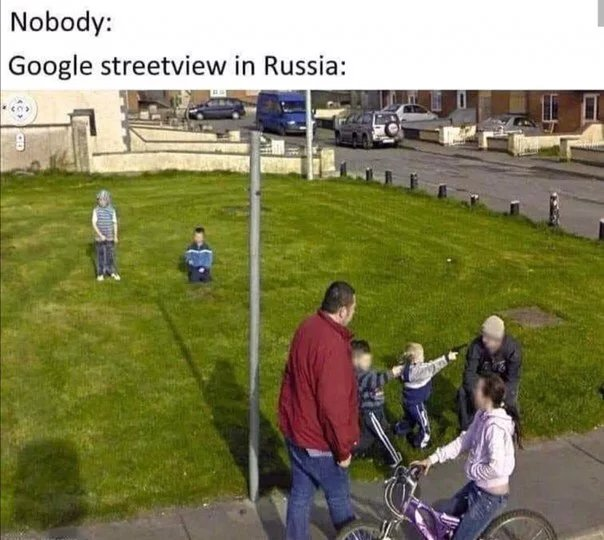 Russia at its finest