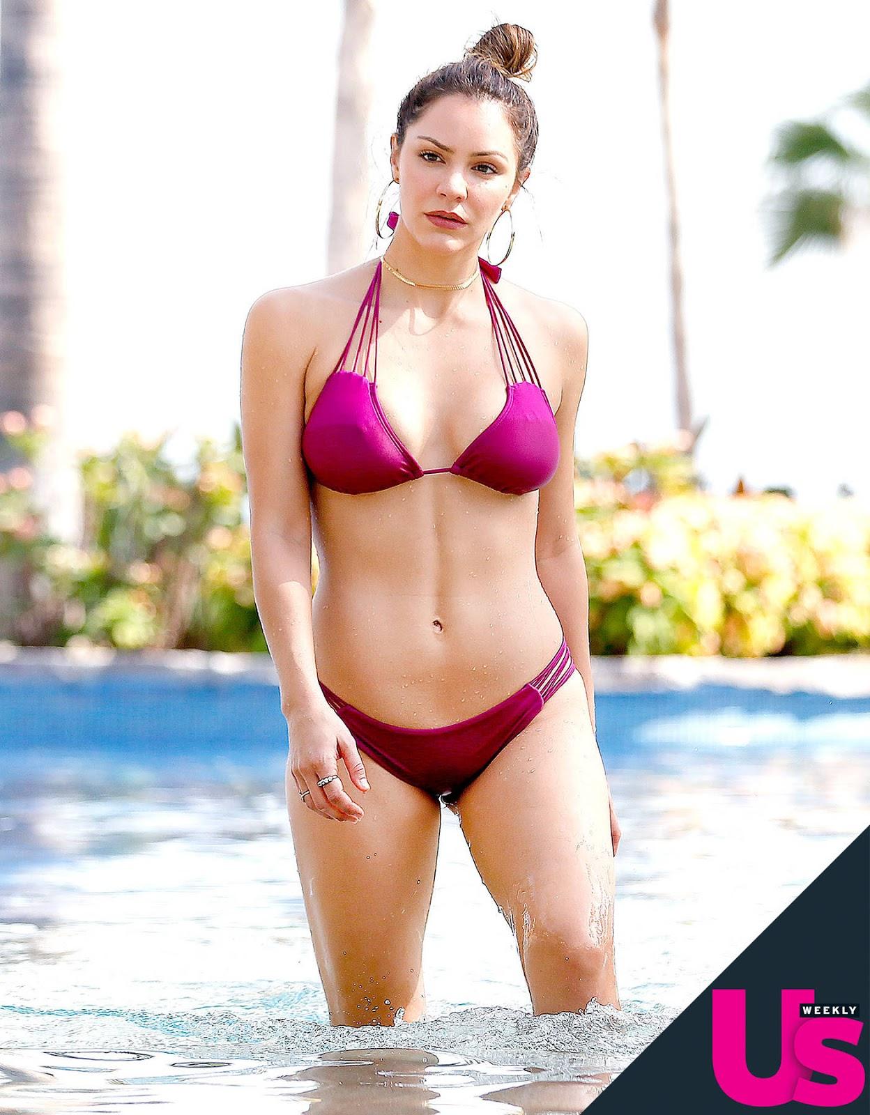 Katharine McPhee in Bikini on Mexico