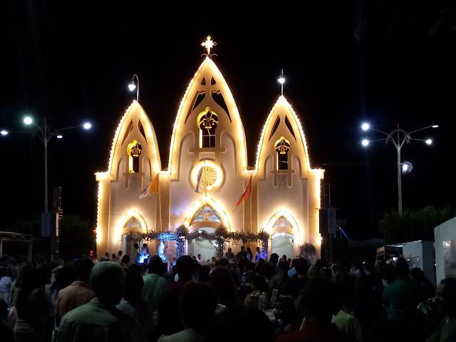 Festa da Padroeira  Nossa Senhora do Rosário em Delmiro Gouveia, encerra-se neste domingo, 21