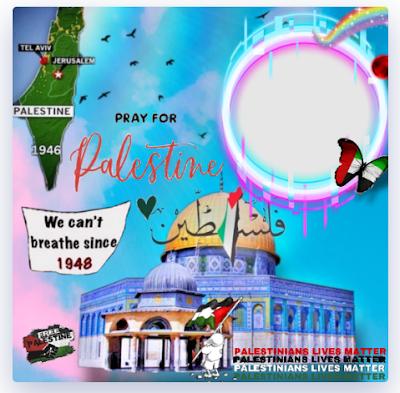 Twibbon Bantuan untuk Palestina 2021