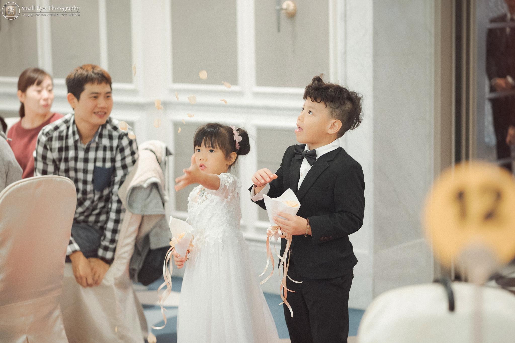 小眼攝影,婚禮攝影,婚禮,婚禮紀錄,婚禮紀實,婚攝,迎娶,傅祐承,新秘瓜瓜,台北,東方文華,花童