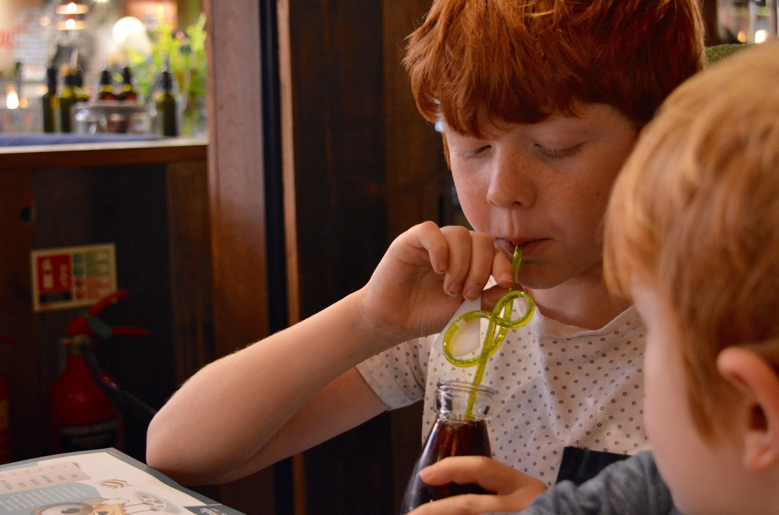Bella Italia at intu Eldon Square Newcastle | Children's Menu Review - kids unlimited drinks