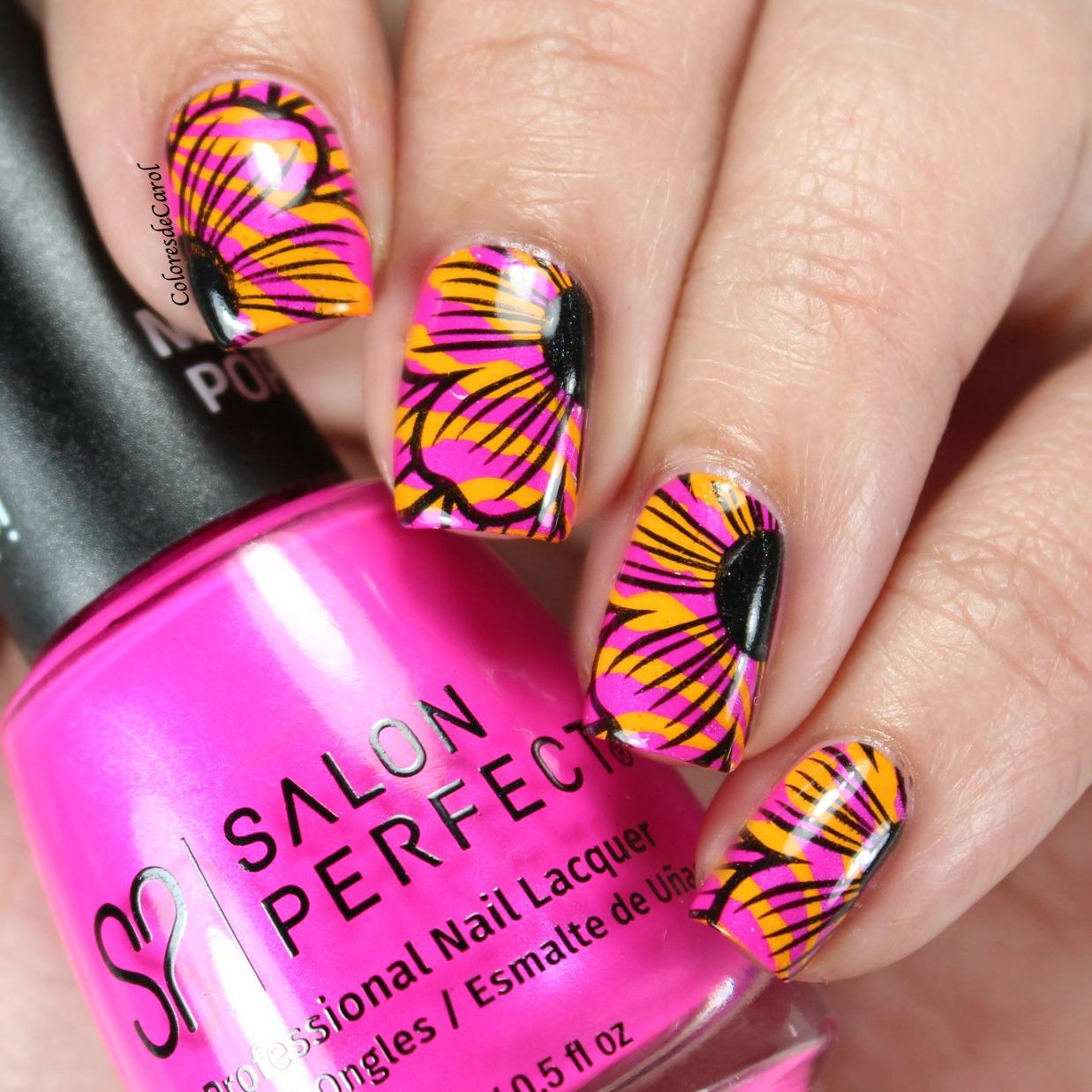 Colores de Carol: Salon Perfect Back To The Fuchsia