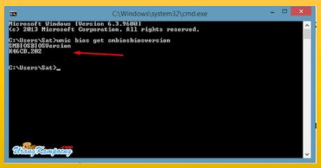Cara Cek Versi BIOS Komputer dan Laptop