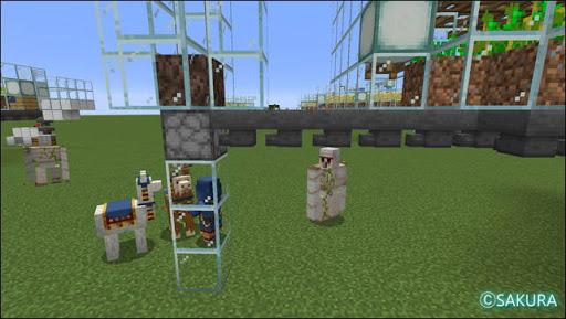 Minecraft 自動小麦農場 水流式アイテムエレベーター ソウルサンドとドロッパー