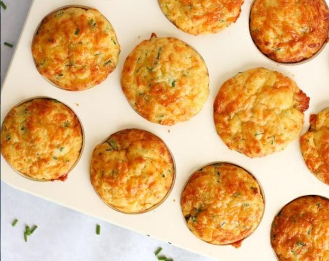 Savoury Cheese Muffins #breakfast #muffins
