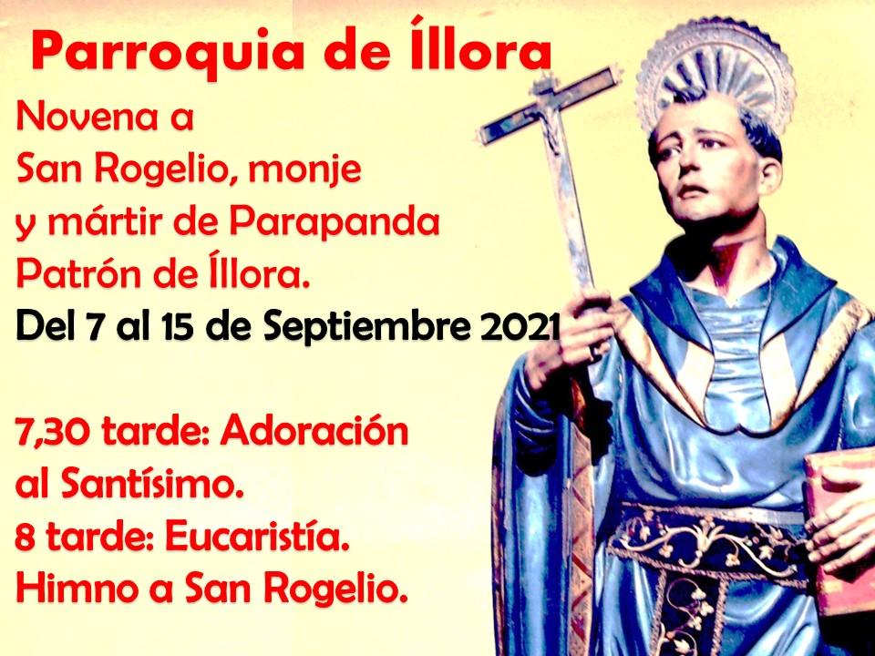 CELEBRACIONES EN  HONOR A SAN ROGELIO  SEPTIEMBRE 2021