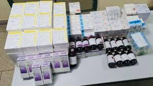 """بالصور...إعتقال شخصين بفاس بتهمة """"اختلاس أدوية ومواد طبية عمومية وترويجها خارج إطارها القانوني"""""""