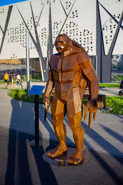 Волгоград черепашка ниндзя Рафаель памятник бронза современная культура комиксы
