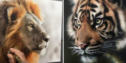 00-M-Oosterlee-Realistic-Airbrush-Animal-Paintings-www-designstack-co