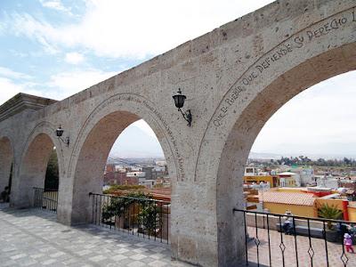 Mirador de Yanahuara, city tour Misti Arequipa, Tour Misti Arequipa