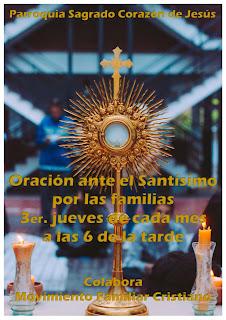21-I-21, adoración por las familias