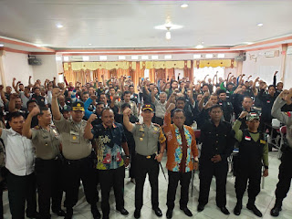 Perwakilan Satgas Keamanan Desa Dikumpulkan