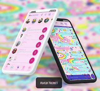 Rainbow Theme For YOWhatsApp & Fouad WhatsApp By Ale