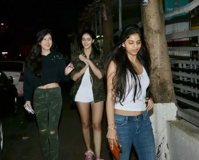 Shanaya kapoor, Suhana Khan and Ananya Panday