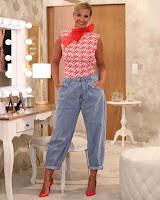 Cristina Ferreira de calças da Zara