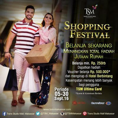 Trans Studio Mall Makassar Shopping Festival