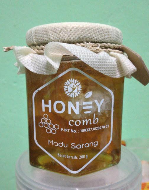 Madu Sarang Lebah Asli 200g - Harga Rp125.000 (belum ongkir)