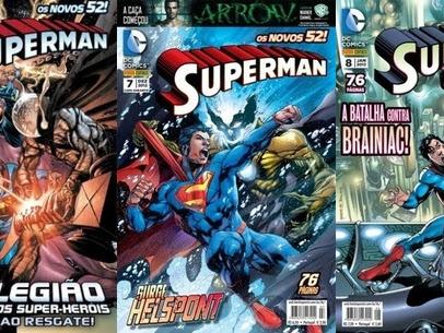 Resenha Superman Nº 06, 07 e 08