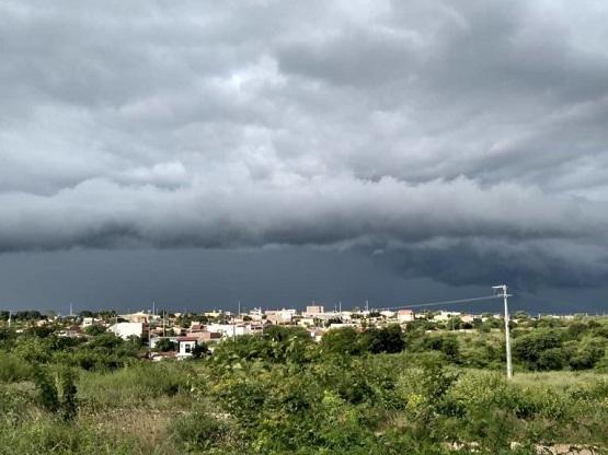 Previsão do tempo aponta chuvas para Malhada de Pedras e região na próxima segunda-feira (25)