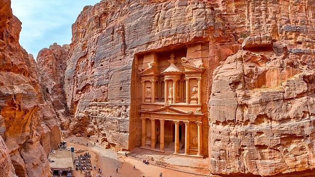 Petra - Jordânia/Reprodução