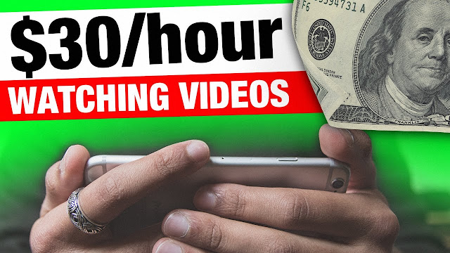 Earn $30 Per Hour WATCHING VIDEOS! Worldwide and FREE ( Make money online)
